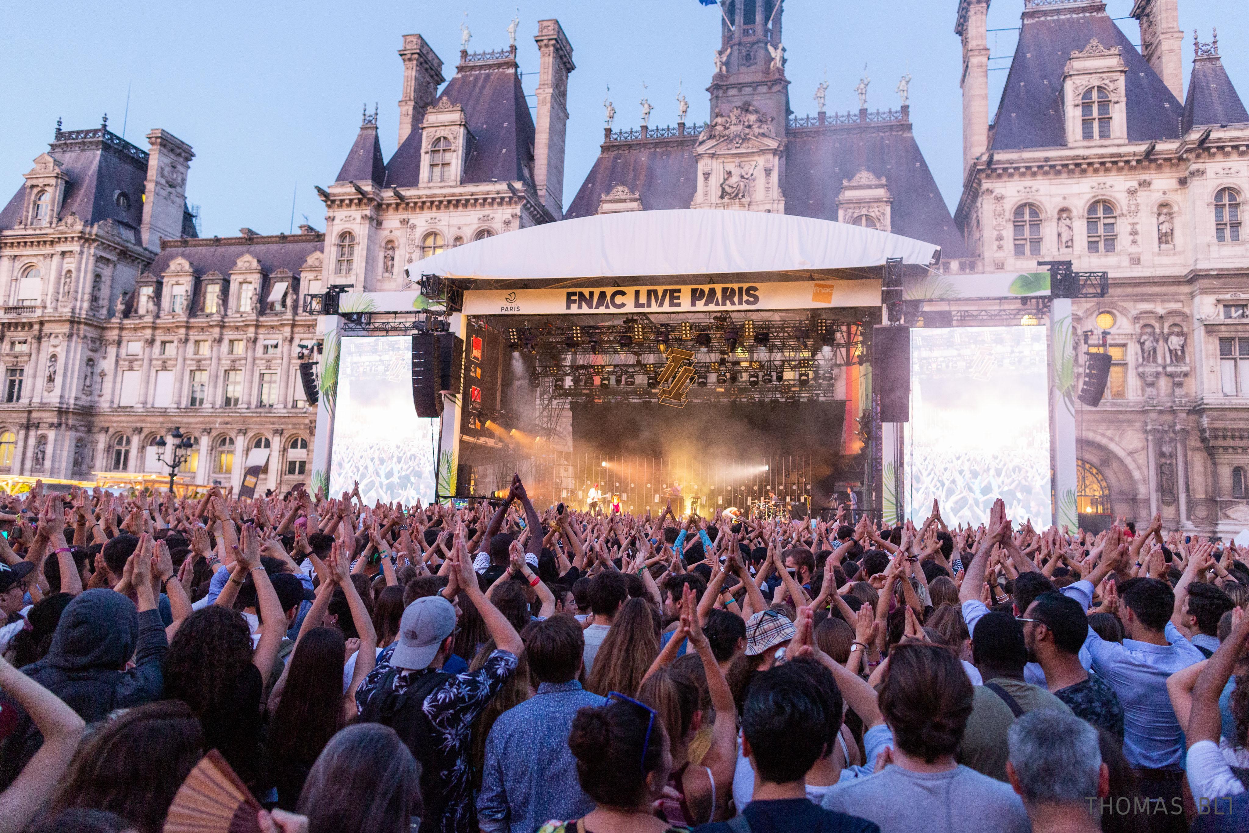 fnac live paris public